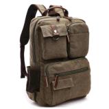 Mens-Arbeitsweg-Rucksack-Schule-Beutel Bagpack Rucksack der Militärsegeltuch-Rucksack-Männer