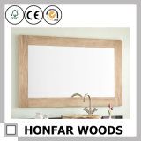 [110إكس43كم] طبيعيّة خشبيّة مرآة إطار لأنّ كور