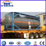 recipiente líquido corrosivo químico do tanque do transporte do ISO de 20FT 40FT
