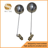 Tipo flotante vávula de bola de cobre amarillo Dn15-20 del vendedor caliente