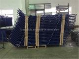 Escaleras de acero revestidas Starways del andamio del polvo para el marco del andamio