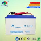 Bateria solar acidificada ao chumbo selada da bateria 12V 80ah do UPS da bateria