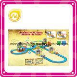 97 PCS Pirate Adventure Paradise Rail Train Rail Rail