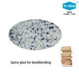 Colle de colonne vertébrale blanche à base de billes blanc à base d'EVA pour carnet de livres