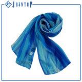 デジタル標準的な軽量の印刷の絹のあや織りのスカーフ