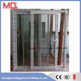 De buiten Schuifdeur van het Glas UPVC/PVC met Systeem het Met meerdere balies van het Slot