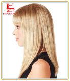 Capelli pieni del Virgin della parrucca del merletto della parrucca dei capelli umani