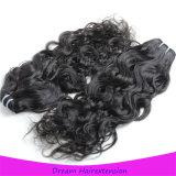 工場は直接最上質の加工されていない100%カンボジアの人間のRemyのバージンの毛を供給する