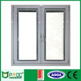 Het Australische Standaard Gehangen Openslaand raam van het Aluminium Kant met Ce- Certificaat