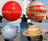 Ballons s'arrêtants gonflables estampés de planète des prix de ballon de PVC pour des décorations