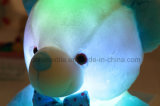 Cadeau brillant coloré de Noël d'ours de nounours du type DEL de nounours d'ours de peluches de jouet inductif neuf de peluche pour des gosses