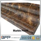 Mármol oscuro Polished de la decoración M220 Emperdor del cuarto de baño para la decoración del Plinth y de la pared