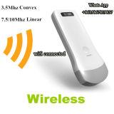 Sonde sans fil convexe linéaire d'ultrason avec le WiFi