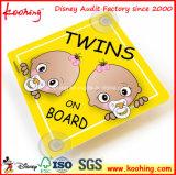 Fabricante impreso aduana 100% de Shenzhen de la fábrica para la Coche-Muestra del bebé de la alta calidad a bordo