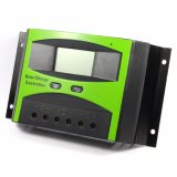 60A 12V 24V Solar Panel Controller / Regulador LCD Display para Solar Home System com Light Timer Control Ld-60b