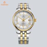 호화스러운 황금 사업 기계적인 사람 시계 스테인리스 방수 충격 저항하는 시계 72204