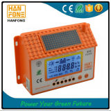 PWM 수동 60A 파란 역광선 전시 LCD 충전기 관제사