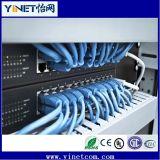 alambre de puente azul de la cuerda de corrección del Internet CAT6 de los 3m RJ45 para la PC del ranurador del interruptor