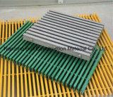 Plataforma de Pultruded, reja de FRP que recorre, reja del suelo de la fibra de vidrio