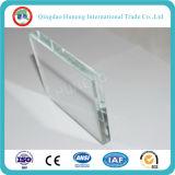 Vidrio de flotador ultra claro verde de cristal claro adicional de la casa del hierro inferior
