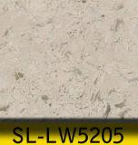 아름다운 대리석 정맥 인공적인 석영 돌