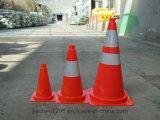 Cone agradável superior europeu do tráfego do projeto da segurança 750mm