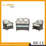 Fatto nell'insieme impermeabile del sofà del rattan della mobilia esterna di alluminio del patio della Cina