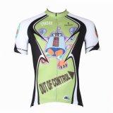Les Jersey de recyclage des hommes allant à vélo le sport court respirable de chemise de T-shirt extérieur