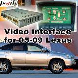 A relação video do carro para Lexus 2005-2009 é Es Rx, parte traseira Android da navegação e panorama 360 opcionais