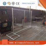 Temporärer Aufbau-Zaun-/Zaun-Panel-Aufbau-Kettenlink-Zaun