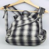 소녀, 여자 쇼핑 백, 여가 옥외 부대를 위한 형식에 의하여 검사되는 패턴 책가방