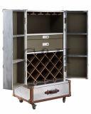 Cabina ajustable del control de la temperatura del refrigerador de vino de la aleación de aluminio de la visualización