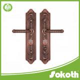 별장과 외부 문을%s 310mm로 큰 격판덮개에 있는 도매 아연 합금 손잡이 자물쇠 오래