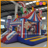 Aoqi neuester aufblasbarer Spiel-Zirkus-Clown-kombinierter Plättchen-Prahler (AQ01605)