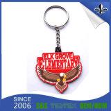 Fördernde Produkte passten Dekoration Keychain Keyholder mit Schlüsselring an (HN-KH-001)