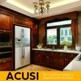 Het in het groot Hete Verkopende Meubilair van de Keuken van de Keukenkast van de Stijl van U Stevige Houten (ACS2-W16)