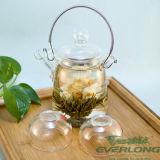 Китайский Handmade художнический чай, чай цветения, Flowering чай, зацветая шарики чая с подгонянным пакетом подарка (BT002)