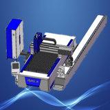 Machine de découpage de plaque et de tube de laser de fibre de commande numérique par ordinateur
