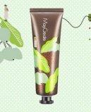 Crema orgánica de la mano del aceite de oliva de la escritura de la etiqueta privada del cuidado de piel del OEM
