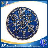 透過エナメル(Ele-C210)が付いている黄銅によって押される記念品の硬貨
