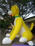 Progettare il cagnolino per il cliente gonfiabile del cane da vendere
