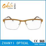 Leichter Betatitanbrille Eyewear optische Glas-Rahmen (9101)