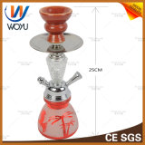 Mini tubo di acqua dell'acciaio inossidabile del tubo del narghilé della bottiglia del narghilé di stile di Homw