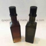 Tampas delicadas do parafuso do preto escuro para os frascos de vidro