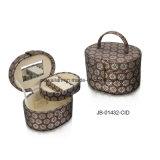 Netter glänzender materieller ovaler Form-Schmucksache-Geschenk-Kasten-Schmucksache-Kasten