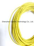 Cable de gota de interior de la base del cable LSZH 4 de la fibra de FTTH mini