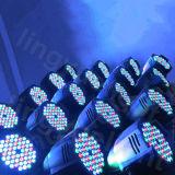 DJ装置RGBW 54X3wの段階の同価LEDの効果ライト