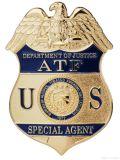 Het Kenteken van de Politie van het Metaal van de Emblemen van de klant