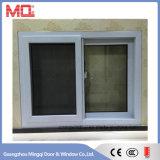 Энергосберегающее окно изолированное UPVC стеклянное с сетью москита