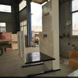 Elevador vertical accesible de la elevación del hombre del sillón de ruedas uno de la plataforma